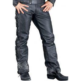 Kalhoty HIGHWAY 1 Exell II, kožené, černé, dámské, vel. 42