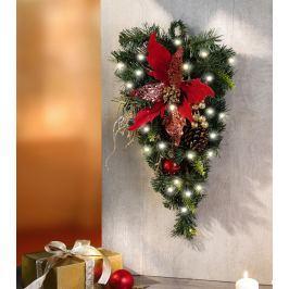 LED nástěnná dekorace Vánoční srdce