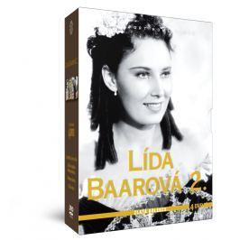 Lída Baarová 2 - Zlatá kolekce 4 DVD: Jsem děvče s čertem v těle + Lelíček ve službách Sherlocka Hol