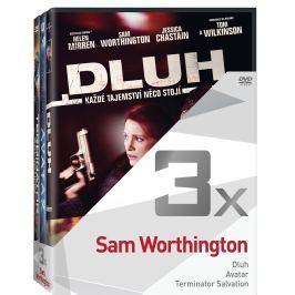 3x Sam Worthington - kolekce