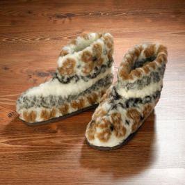Vlněné papuče, vel. 36-38