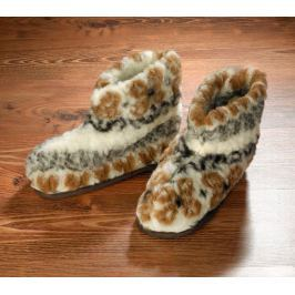 Vlněné papuče, vel. 39-40