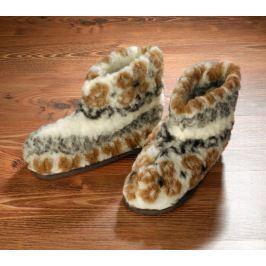 Vlněné papuče, vel. 41-43