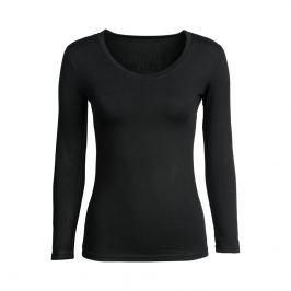 Tričko Basic s dlouhým rukávem černé, vel. S
