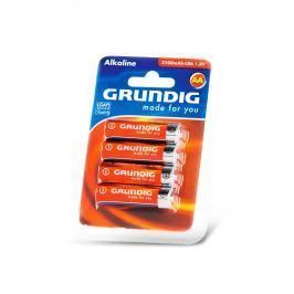 Alkalické baterie GRUNDIG AA, 4 ks