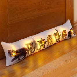 LED ochrana proti průvanu Koťata