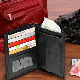 Rozkládací peněženka, černá