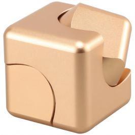 Spinner Cube - kovová antistresová kostka zlatá