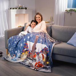LED Vánoční deka