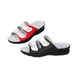 Pantofle Modena, černé, vel. 39