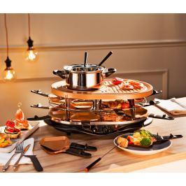 XXL Raclette a fondue set - 32 dílů