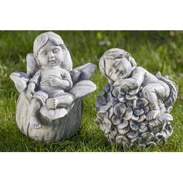 Figurky elfů Adéla a Bert, sada 2 ks
