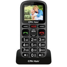 Mogilní telefon CPA Halo 16 černý