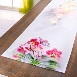 Běhoun na stůl Orchidej