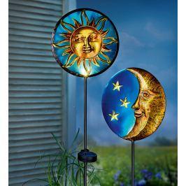 Solární zápichy slunce a měsíc