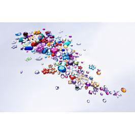 Sada samolepících barevných kamínků, 2 000 kusů