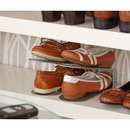 Stojan na boty šetřící prostor v botníku, dvoudílný