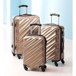 Sada cestovních kufrů Metallic, 3 ks