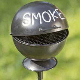 Zahradní popelník Smoke, lesklý