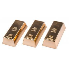 Magnet Zlatá cihla, 3 ks