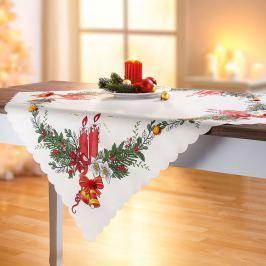 Vánoční dečka, 84 x 84 cm