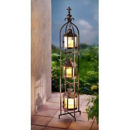 Lucerny - Trio s LED svíčkami