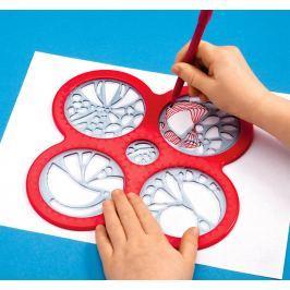 Šablony na malování - Spirograf Cyclex