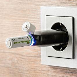 Nabíjecí baterie AA s USB portem, 2 ks