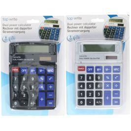 Kalkulačka Dual power Topwrite