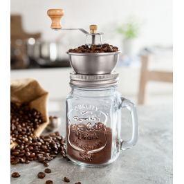 Skleněný mlýnek na kávu