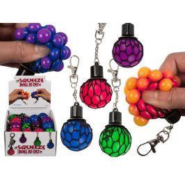 Přívěšek Stress ball, mix barev