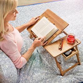 Bambusový stolek do postele Deluxe