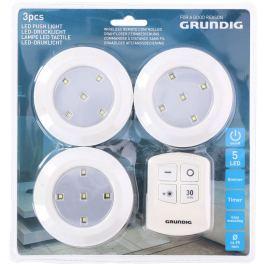 LED světlo s ovladačem Grundig, 3 kusy