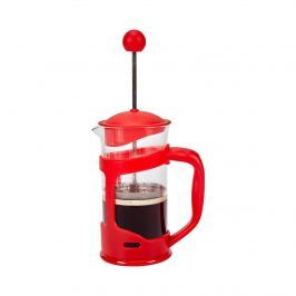 Konvice French press červená, 350 ml