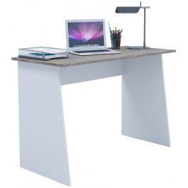 Pracovní stůl Masola Maxi, bílá/sonoma dub