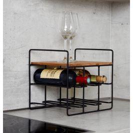 Loft Regál na víno, 6 láhví