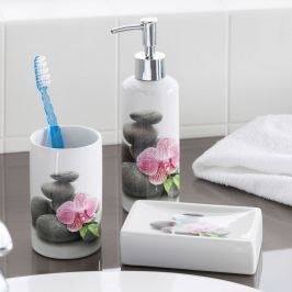 Koupelnový set Orchidej, 4 ks