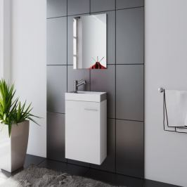 Koupelnový set Garla, bílý