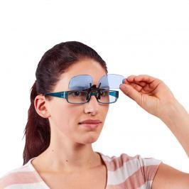 Klip na brýle s modrým filtrem