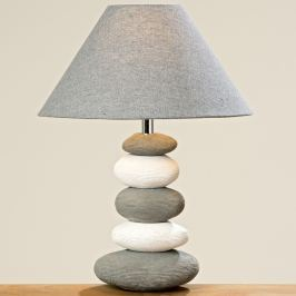 Stolní lampa Kámen