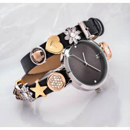 Dámské náramkové hodinky Charms s 10 ozdobami