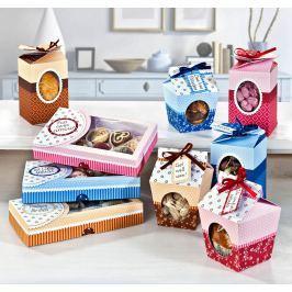 Dárkové krabičky Sweet Box, sada 9 ks