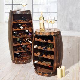 Vinný sud na lahve, 69 cm