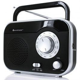 Přenosné rádio FM/AM černé