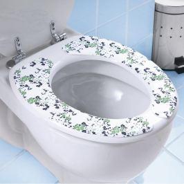 Samolepicí polštářky na WC