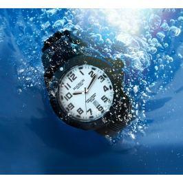 Karbonové hodinky DIVER, černé