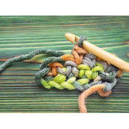 Háčky na tuniské háčkování bambusové, sada 12 ks