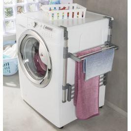 Sklopný závěsný držák na pračku