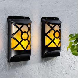 Nástěnné lampy Flame, 2 ks