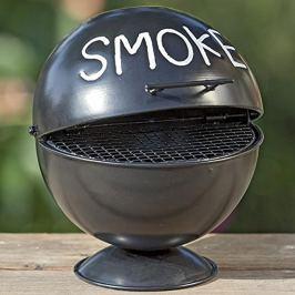 Stolní popelník Smoke, černý